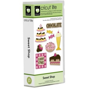 Cricut Lite Sweet Shop Cartridge