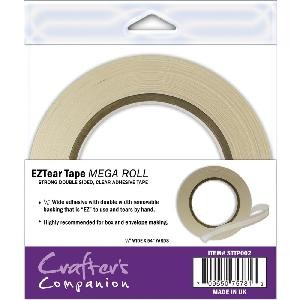 "EZTear Tape Mega Roll 1/4"" - 54yds"