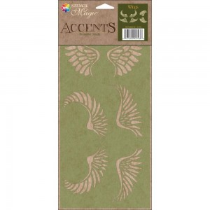 Accents Decorative Stencils - Wings