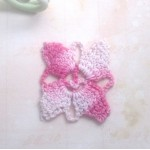 Pink Vintage Crocheted Accent - 3