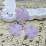 Love Birds Cabochons - 5pcs