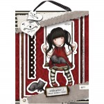 Gorjuss Urban Rubber Stamp Set - Ruby