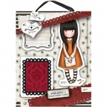 Gorjuss Urban Rubber Stamp Set - I Gave You My Heart