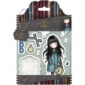 Gorjuss Urban Rubber Stamp Set - The White Rabbit