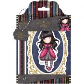Gorjuss Urban Rubber Stamp Set - Ladybird