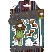 Gorjuss Urban Rubber Stamp Set - The Fox