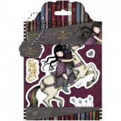Gorjuss Urban Rubber Stamp Set - The Runaway