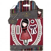 Gorjuss Urban Rubber Stamp Set - The Black Star