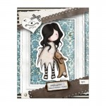 Gorjuss Urban Rubber Stamp Set - I Love You Little Rabbit