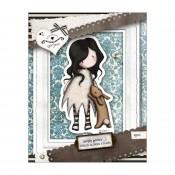 Gorjuss Urban Rubber Stamp Set - I Love You Little Rabbit