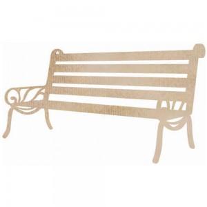 Wood Flourishes - Bench Seat