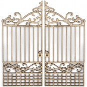 Wood Flourishes - Gates