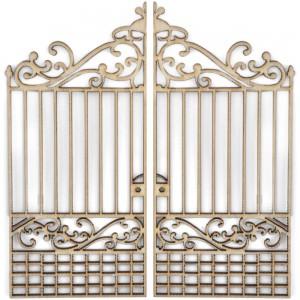 Wood Flourishes - Gates