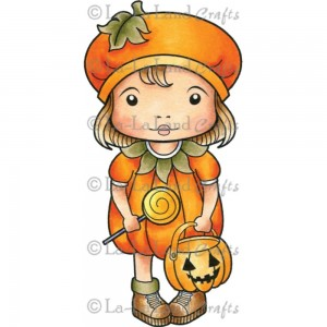 Pumpkin Marci Stamp