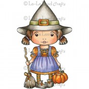 Witch Marci Stamp