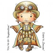 Steampunk Marci Stamp