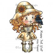 Scarecrow Marci (w/ Sentiment) Stamp