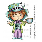 Mad Hatter Luka (w/ Sentiment) Stamp