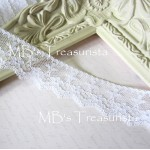 Scalloped Floral Lace #2  - 1yd