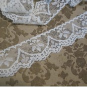 Vintage White Drip Lace -3yds