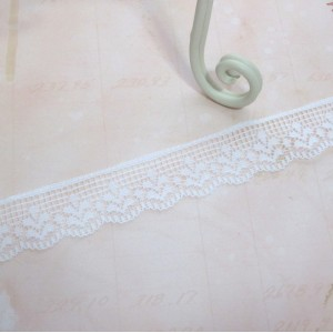 White Floral Lace - 1yd