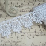 Heart Drip Venise Lace - 1yd