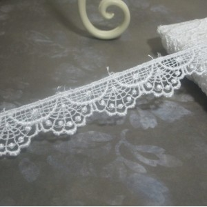 White Scalloped Venise Lace #02 - 1yd