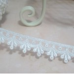 Ivory Drip Venise Lace - 1yd