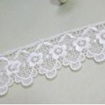 Ivory Floral Venise Lace #02 - 1yd