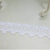 White Scallop Venise Lace #05 - 1yd