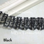 Box Pleated Lace - 1yd