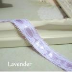 Sm. Eyelet Lace w/ Ribbon - 1yd