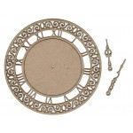 Chipboard Embellishments - Clock #1