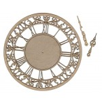 Chipboard Embellishments - Clock #2 Large