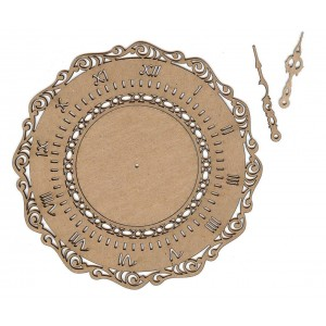 Chipboard Embellishments - Clock #3