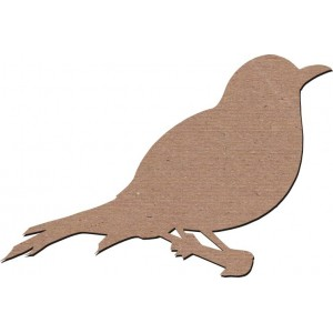 Chipboard Embellishments - Jack & Cat Bird