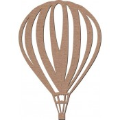 Chipboard Embellishments - Hot Air Balloon #2