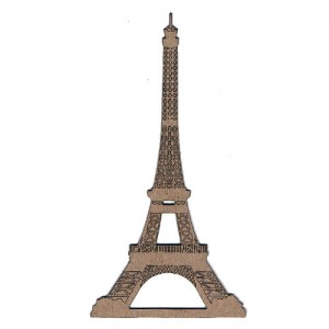 Chipboard Embellishments - Eiffel Tower