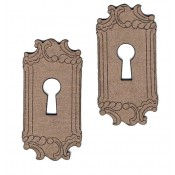 Chipboard Embellishments - Keyhole Plain