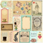 Mad Tea Party Collection - Cut & Create Small Ephemera