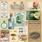 Mad Tea Party Collection - Cut & Create Ephemera