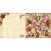 Mad Tea Party Collection - Roses R Read 12x12 Paper