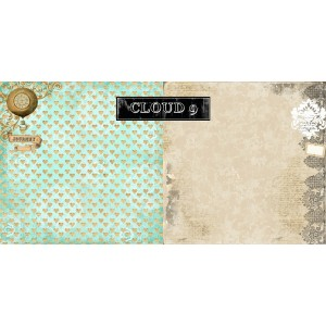 Nirvana Collection - Cloud 9 12x12 Paper