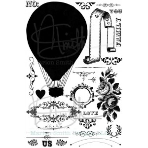 Nirvana Flying High Stamp Set
