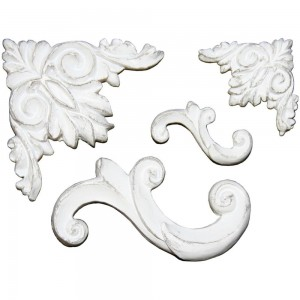 Sculpture Applique Resin Embellishments