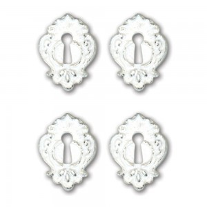 Nottinghill Key Holes  Resin Embellishments