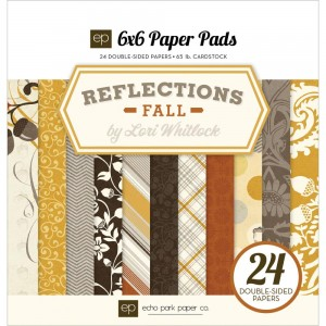 "Reflections Fall Cardstock Pad 6""X6"
