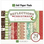 "Reflections Christmas Cardstock Pad 6""X6"
