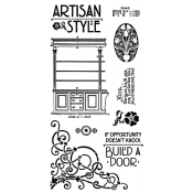 Artisan Style - Cling Stamp 1