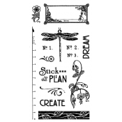 Artisan Style - Cling Stamp 2